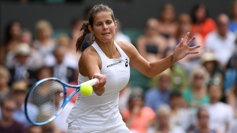 Goerges hit more winners than Williams but ultimately lost