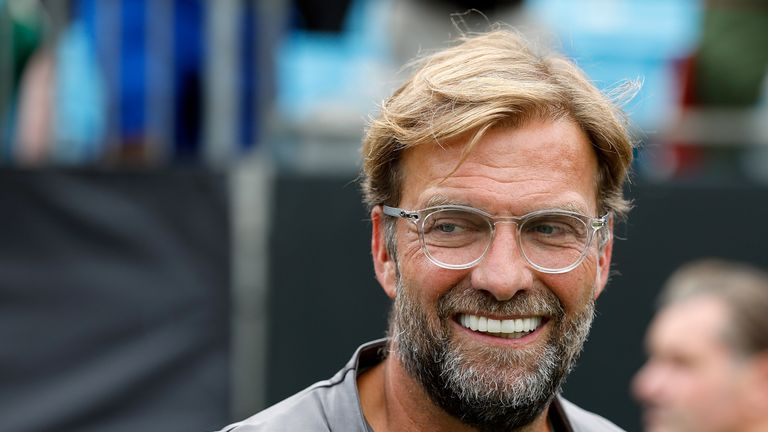Jurgen Klopp has yet to win a trophy during his time at Liverpool