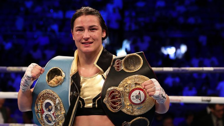 Katie Taylor puts her IBF and WBA belts at stake in Boston