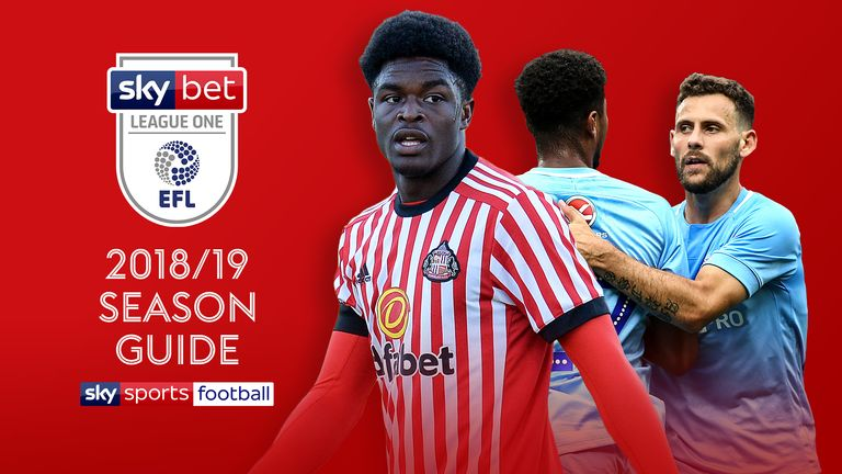 Sky Bet League One 2018/19 Season Guide