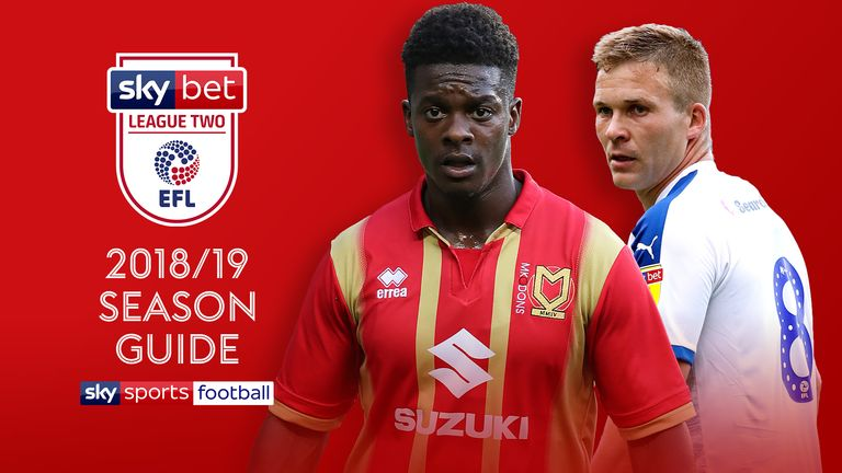 Sky Bet League Two 2018/19 Season Guide