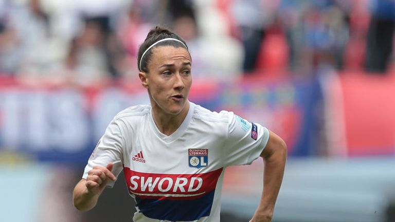 Lucy Bronze plays for French club Olympique Lyon