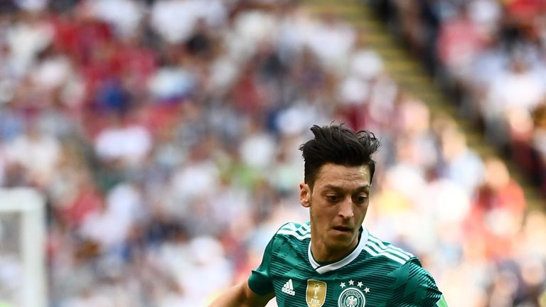 Germany will be without Mesut Ozil after he retired from international football