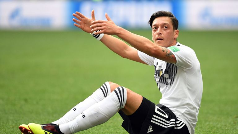Ozil retired from international football in July