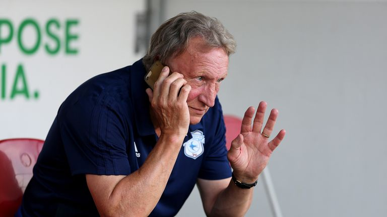 Neil Warnock's Cardiff suffered defeat to his former side Rotherham