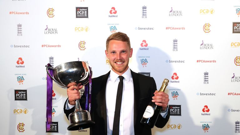 Jamie Porter was named the PCA's Player of the Year in 2017