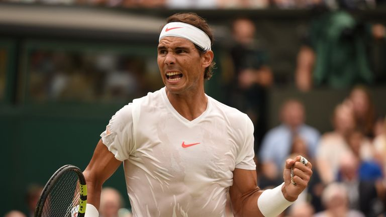 Nadal suffered his very first Wimbledon semi-final loss