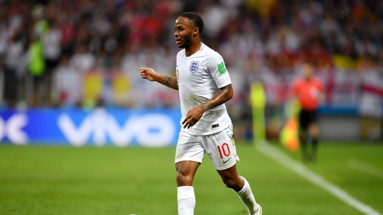 Raheem Sterling was 'fundamental' to England's style at the World Cup, says Southgate