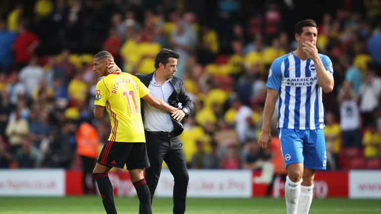 Richarlison played under Marco Silva at Watford