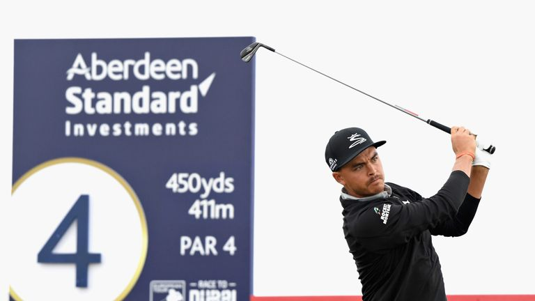 Rickie Fowler opened with a superb 64 at Gullane