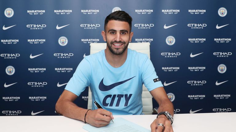 Riyad Mahrez's £60m arrival will help Man City retain their title