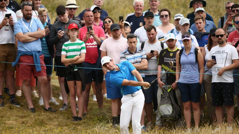 McIlroy is too far back to challenge for the title on Sunday