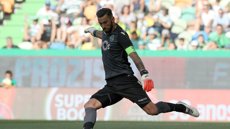 Rui Patricio has joined Wolves after quitting Sporting last month