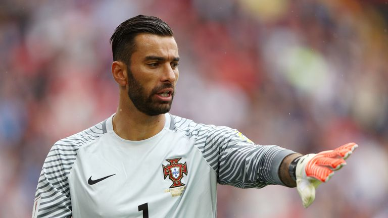 Rui Patricio joined Wolves last month after leaving Sporting Lisbon