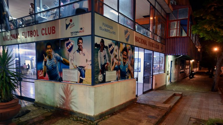 Nacional Futbol Club in Salto, Luis Suarez and Edinson Cavani's first team