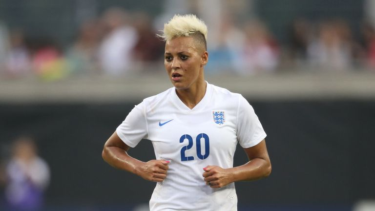 Lianne Sanderson has not played since 2016 after suffering a knee injury