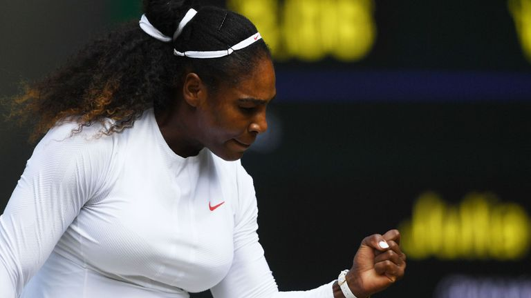 Serena Williams is chasing her eighth Wimbledon singles title