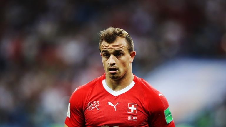 Xherdan Shaqiri joined Liverpool from Stoke earlier this month