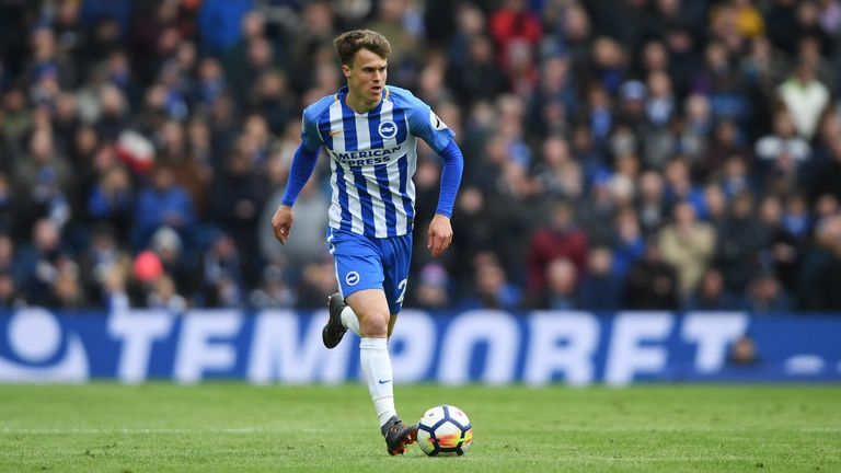 March is the second longest-serving player in Albion's first team