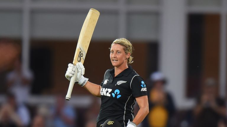 Sophie Devine has scored over 1,700 T20I runs for New Zealand - the eighth most in women's internationals