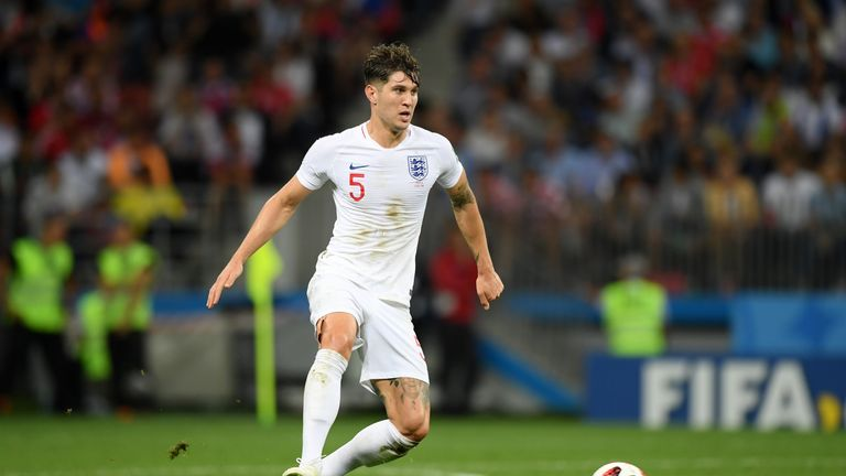 John Stones has flown back to the UK