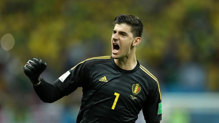 Thibaut Courtois makes the World Cup XI