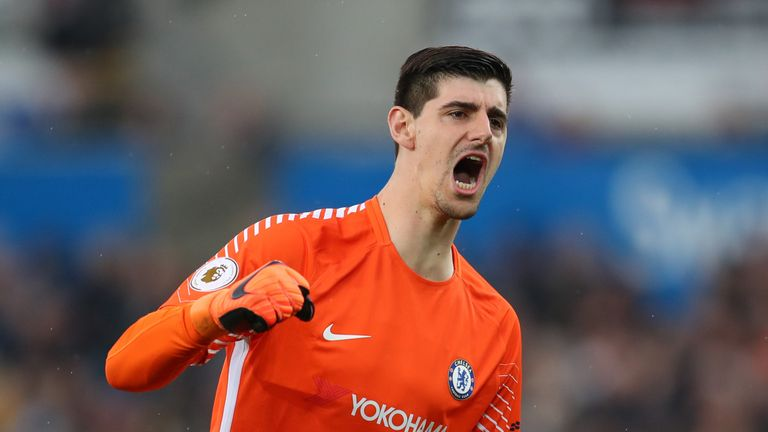 Earlier this month, Thibaut Courtois said 'all options are open' amid uncertainty over his Chelsea future