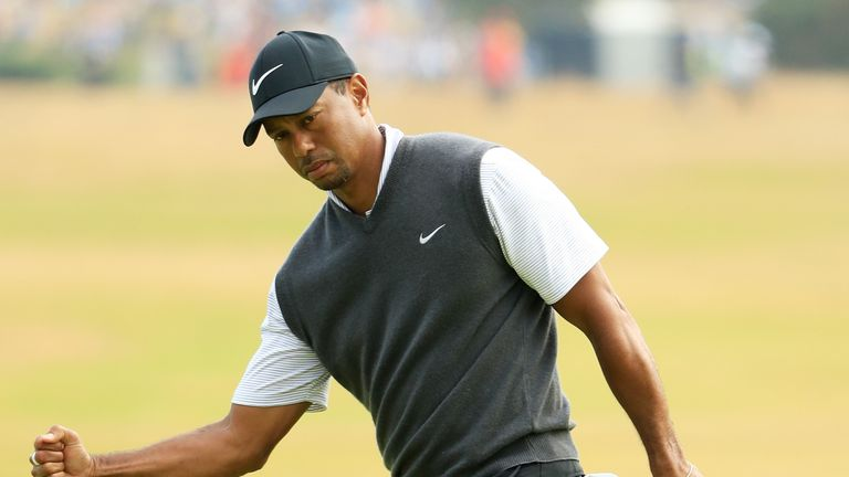 Woods mixed six birdies with a sole bogey during his third round