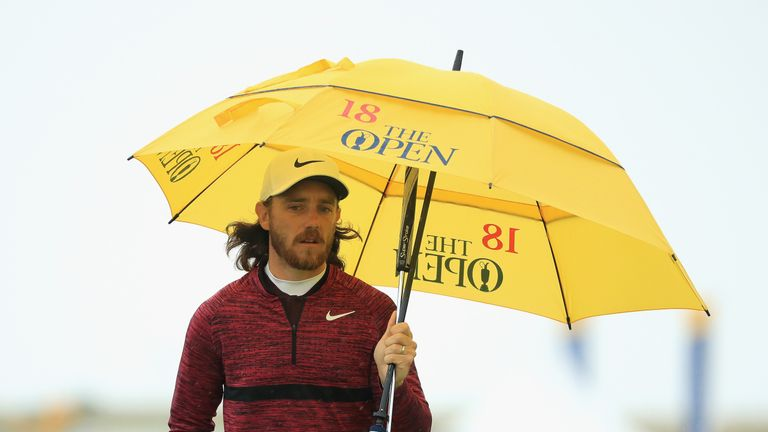 Fleetwood was the first player to hand in a bogey-free card at Carnoustie