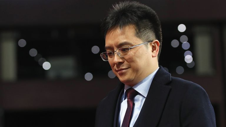 Dr Tony Xia handed control of Villa over to the new majority owners