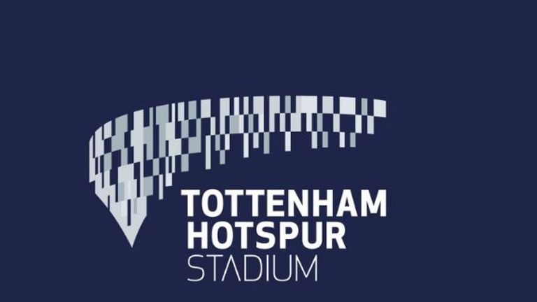 Spurs unveiled their new stadium's branding on Thursday