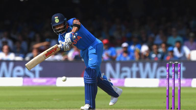 Virat Kohli top-scored for India with 191 runs in their ODI series loss in England in 2018