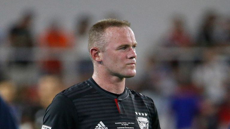 Wayne Rooney's DC United deal expires in 2022