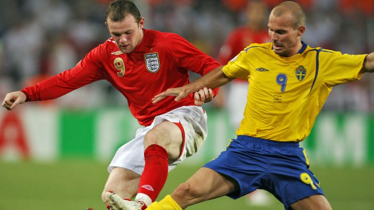 Wayne Rooney at the 2006 World Cup