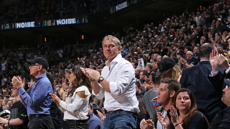 Wes Edens owns NBA team, the Milwaukee Bucks