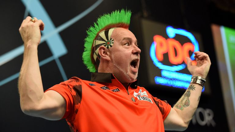 Peter Wright has dropped just 15 legs across the entire tournament