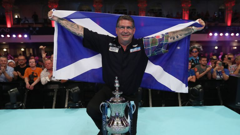 Gary Anderson has a maiden Grand Slam title firmly in his sights