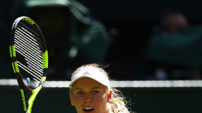 Wozniacki is aiming for a second Grand Slam title this year