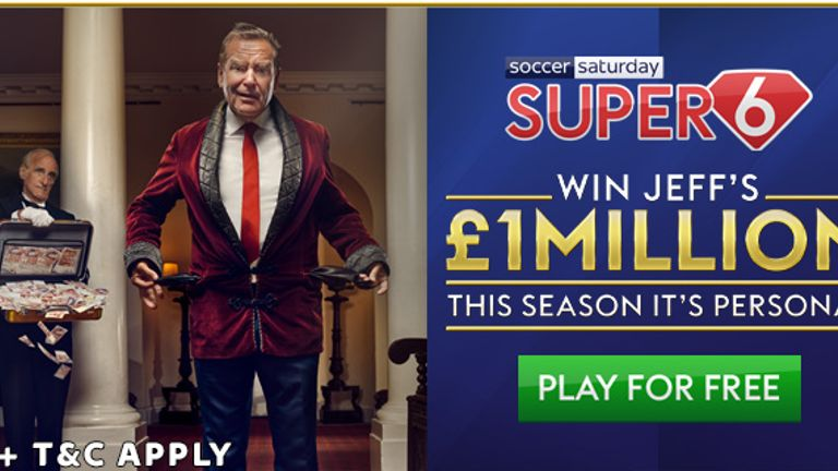 Super 6: £1m up for grabs on Saturday