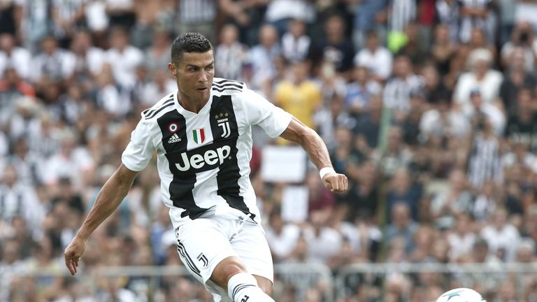 Cristiano Ronaldo will be hoping to score on his return to Old Trafford, just as he did with Real Madrid
