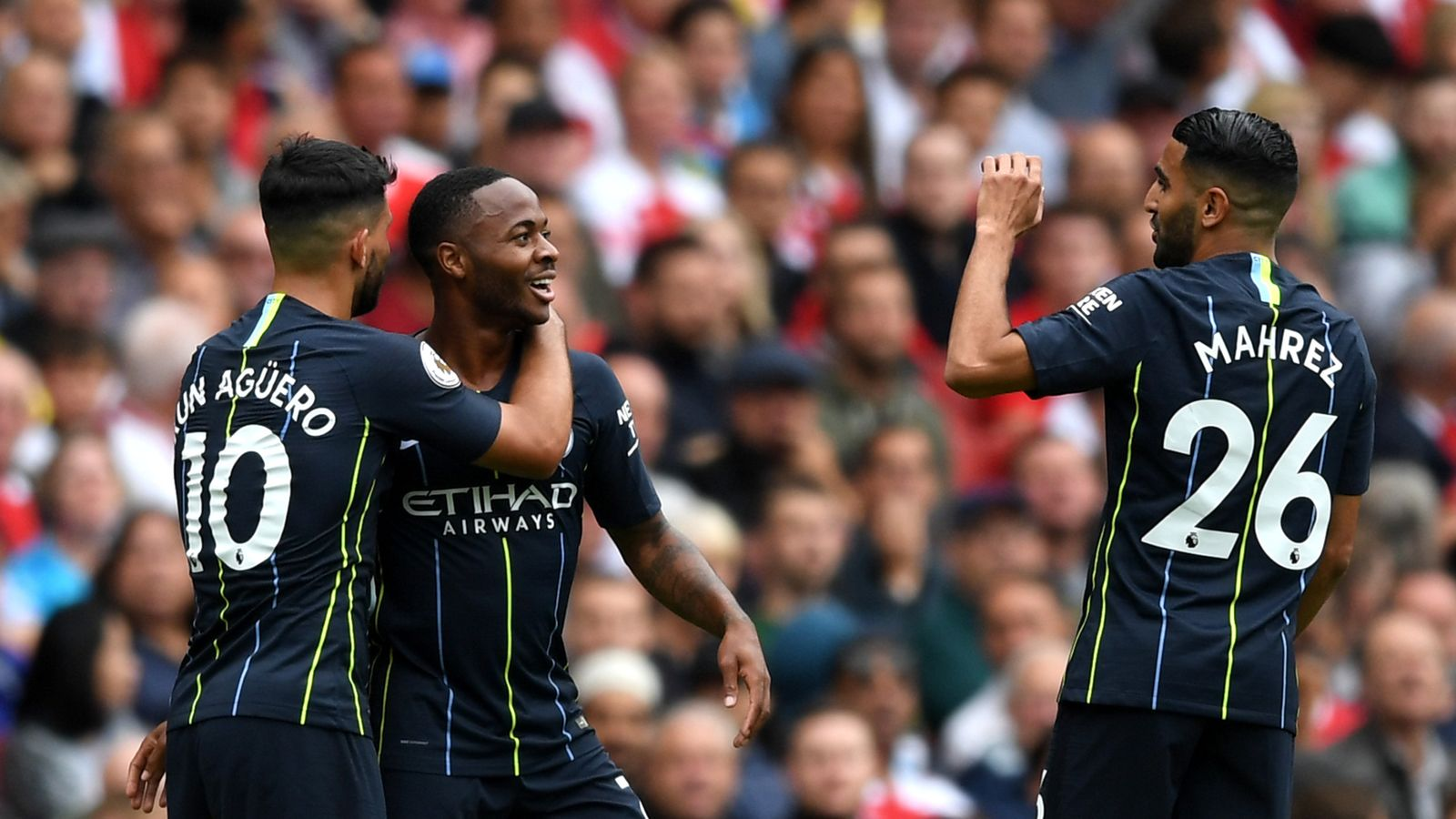 Arsenal 0 - 2 Man City - Match Report & Highlights