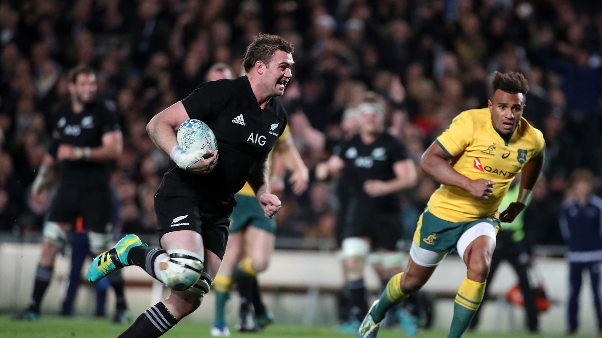 Australia And New Zealand To Play Bledisloe Cup Test In Perth Rugby Union News Sky Sports