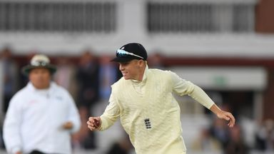 Ollie Pope made his England test debut against India over the summer