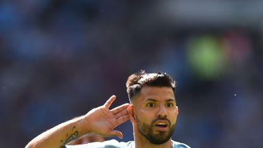 fifa live scores -                               Aguero extends Man City deal