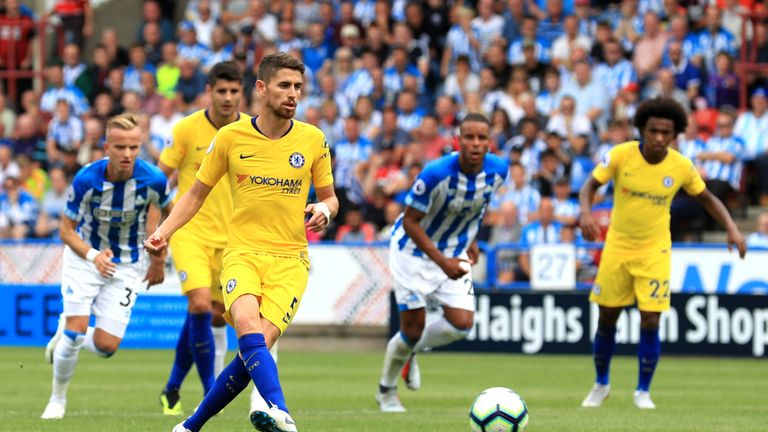Jorginho has impressed so far for Chelsea this season
