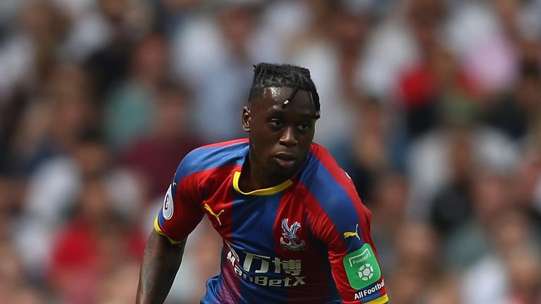Aaron Wan-Bissaka made a big impression in Crystal Palace's opening game of the season against Fulham