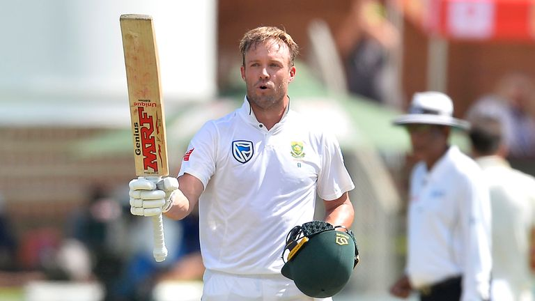 De Villiers scored 22 Test centuries for South Africa