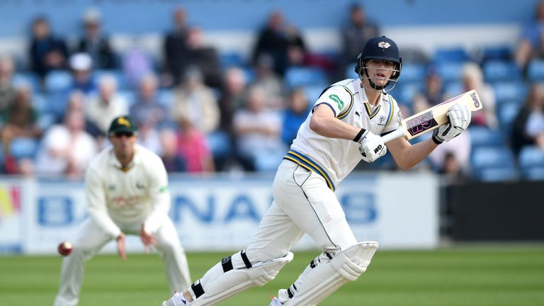 Yorkshire batsman Alex Lees joins Durham on loan for the rest of the season