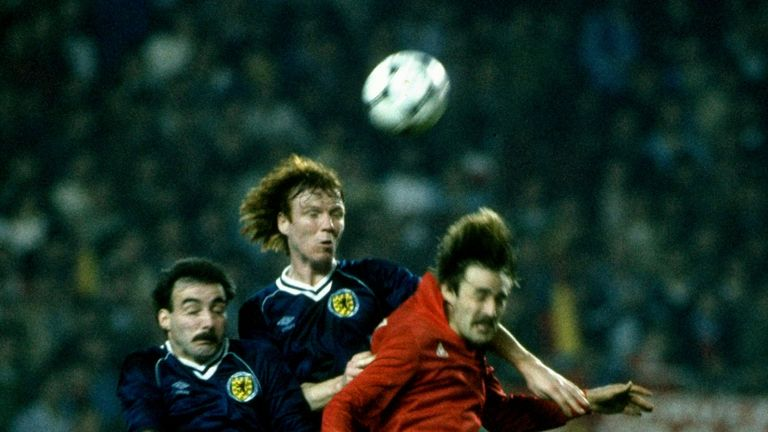 Alex McLeish represented Scotland in three different World Cups