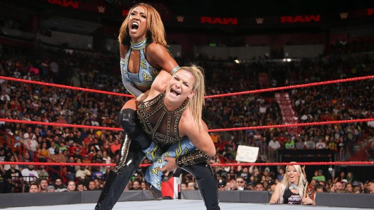 Alicia Fox defeated Natalya on her return to Raw